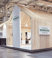 Vorwerk Flooring Messestand Domotex 2016